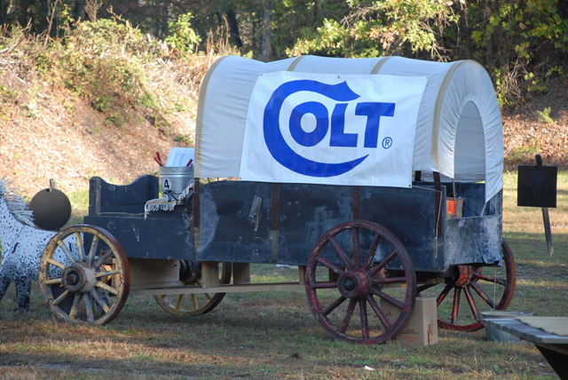 The Colt wagon.