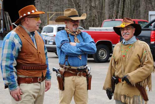 Winchester Bill, Dirty Dead Eye Don, Black Canyon Pete